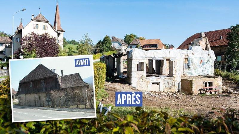 La commune de Valangin dénonce l'architecte qui a démoli le moulin de la Borcarderie