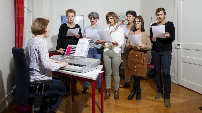 Neuchâtel: chanter pour oublier le cancer
