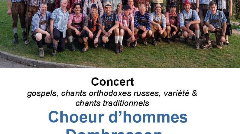 Choeur d'hommes Dombresson - dir : Corinne Fischer