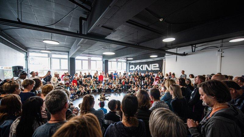 Près de 100 (très) jeunes breakeurs à la Groove Session Kids