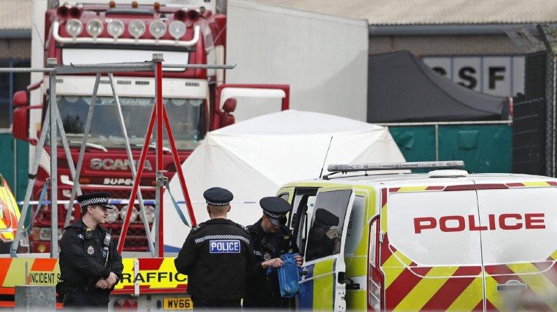 Corps découverts dans un camion près de Londres: la nationalité des victimes non confirmée
