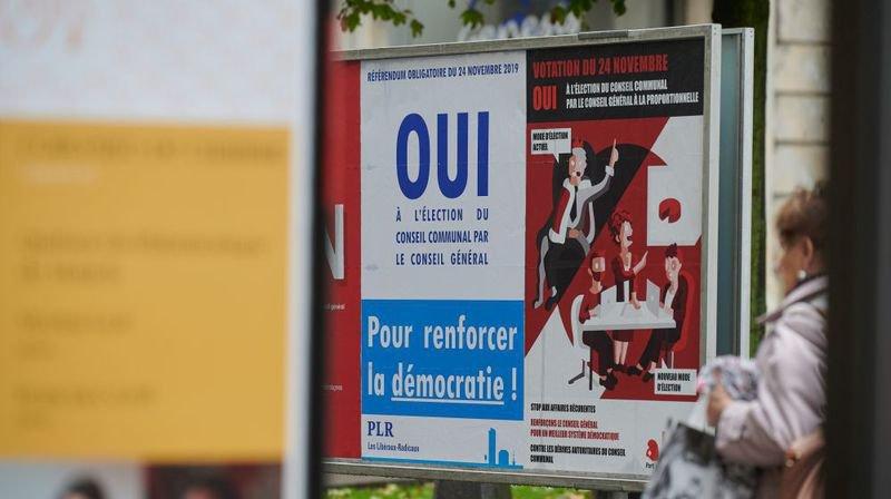 Le Parti libéral-radical et le Parti ouvrier et populaire prônent le oui à l'élection du Conseil communal par le Conseil général.