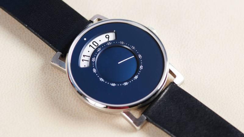 La nouvelle montre MIH Gaia destinee a financer la sauvegarde du patrimoine horloger, présentée en 2019 par le Musée international d'horlogerie.