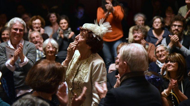 La Chaux-de-Fonds: foule au rendez-vous pour fêter Dolly Fankhauser