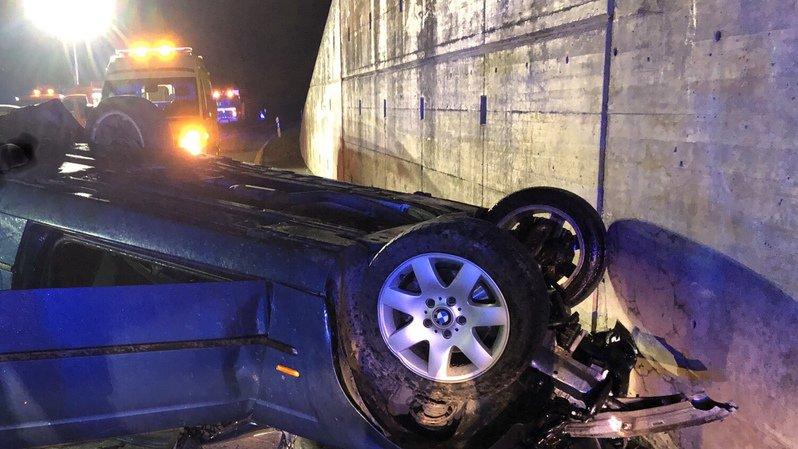 L'accident s'est produit sur une route reliant Sierre à Sion.