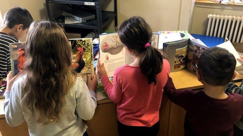 Val-de-Ruz: les 230 élèves affectés par les inondations ont reçu un livre