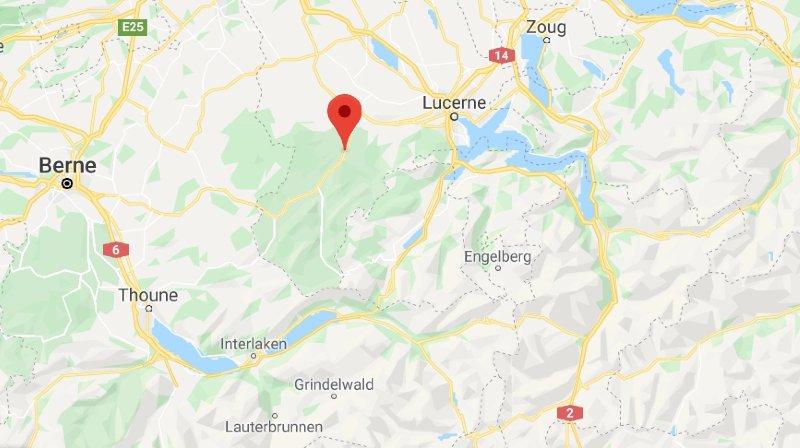 Le foehn a fait de gros dégâts dans l'Entlebuch lucernois.