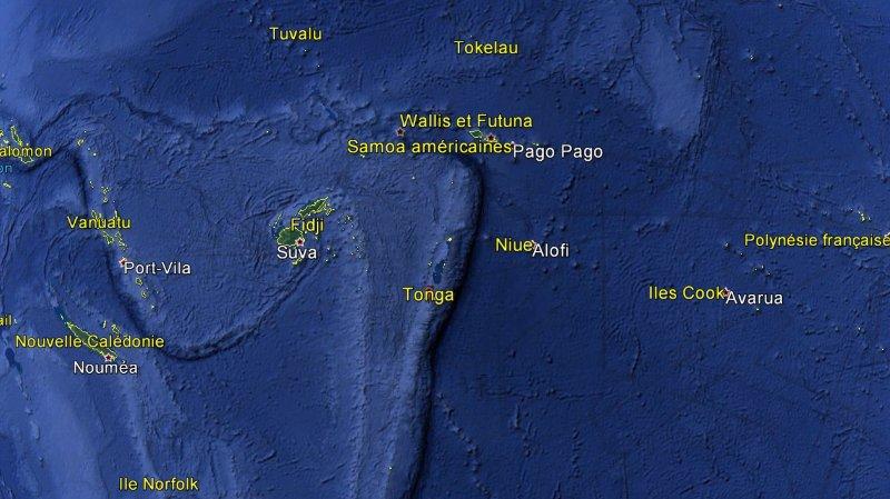Une éruption volcanique crée une nouvelle île aux Tonga