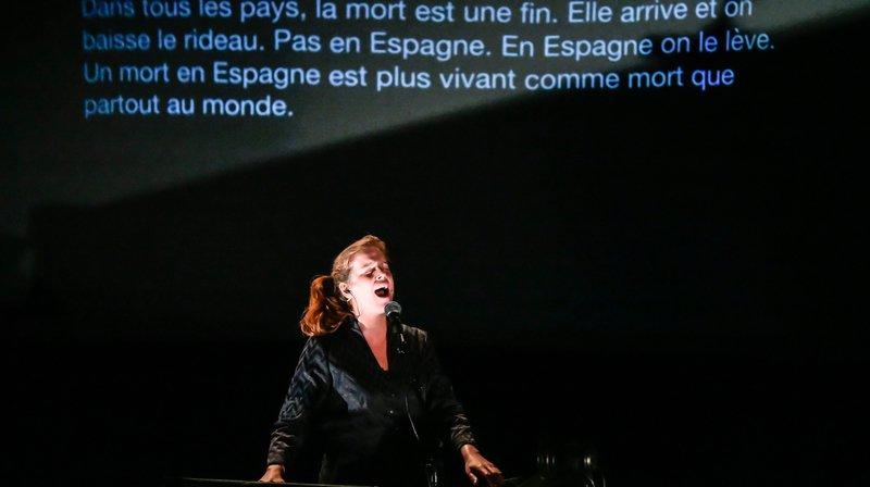 Au TPR, le spectacle envoûtant d'Olivia Pedroli