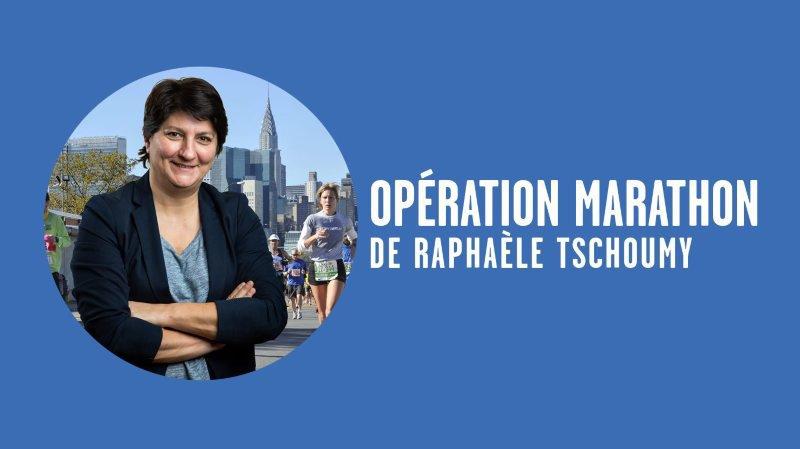 Opération marathon de New York: «Plus que 42,195km…»