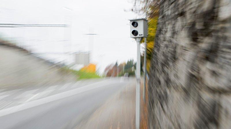 Winterthour: flashé à plus de 100 km/h, il fonce sur le radar pour éviter une amende