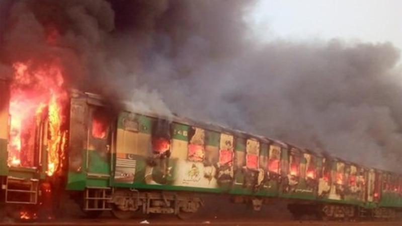 Des médias locaux ont rapporté que des passagers étaient en train de se cuisiner un repas lorsque la bonbonne a explosé.
