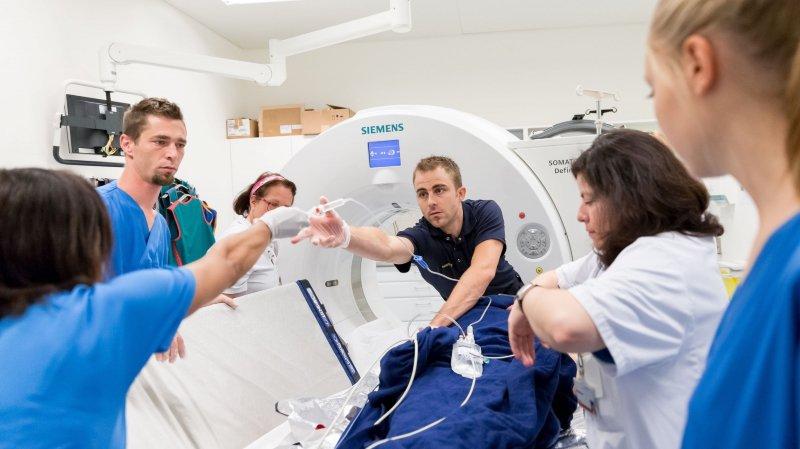 L'unité cérébrovasculaire du Réseau hospitalier neuchâtelois prend en charge 400 cas d'AVC chaque année.