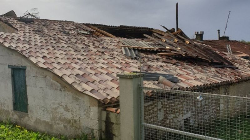 Tempête Amélie: milliers de foyers sans électricité en France