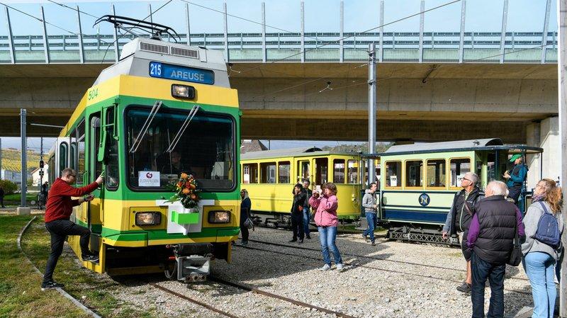 Un dimanche d'adieu aux vieux trams du Littorail