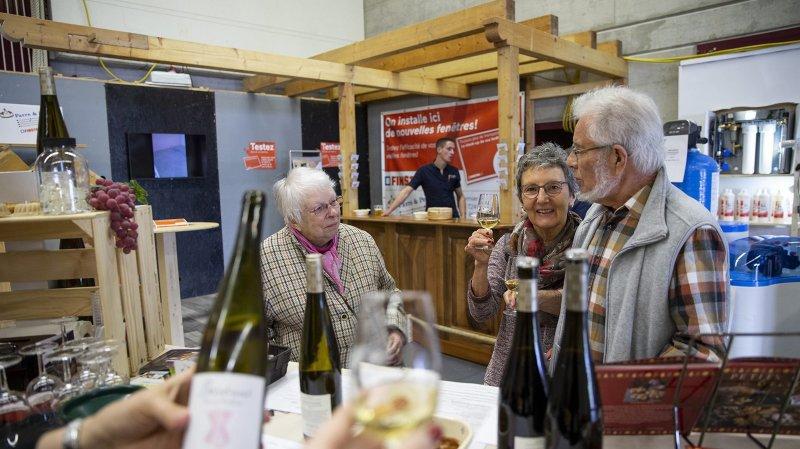 A Val-de-Ruz Expo, la convivialité fait mouche