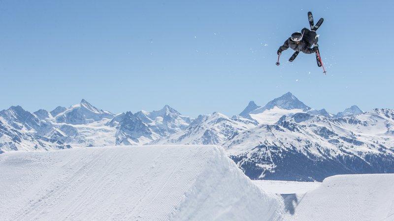 Ski freestyle: le ciel est la seule limite des frères bôlois Aurélien et Louis Coubès