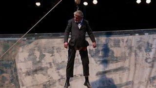 Neuchâtel: Pierre Meunier, dompteur de la pesanteur au théâtre du Passage