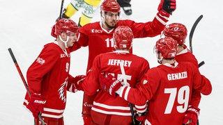 Hockey sur glace: un véritable festival pour les clubs romands