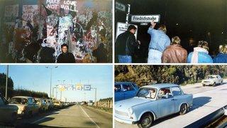 Une Neuchâteloise a enfin pu rencontrer une partie de sa famille après la chute du mur de Berlin