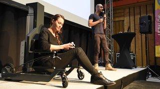Une chaise neuchâteloise destinée aux personnes à mobilité réduite à nouveau primée