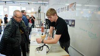 Neuchâtel: la Haute Ecole Arc se dévoile à ses futurs étudiants