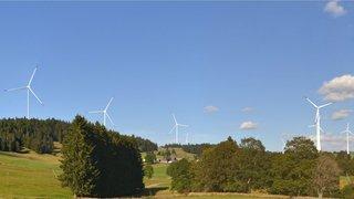 La Joux-du-Plâne/L'Echelette: le parc des Quatre Bornes perd une éolienne