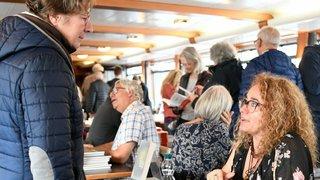 Les écrivains romands ont tenu salon au port à Neuchâtel