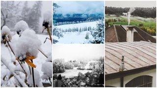 La neige a fait son apparition dans le canton de Neuchâtel