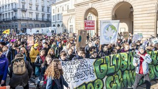 De Sydney à Milan en passant par Johannesburg: la grève mondiale pour le climat en images