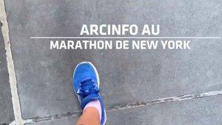 «ArcInfo» au marathon de New York