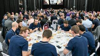 Repas de gala très réussi pour clôturer le 100e anniversaire du HCC