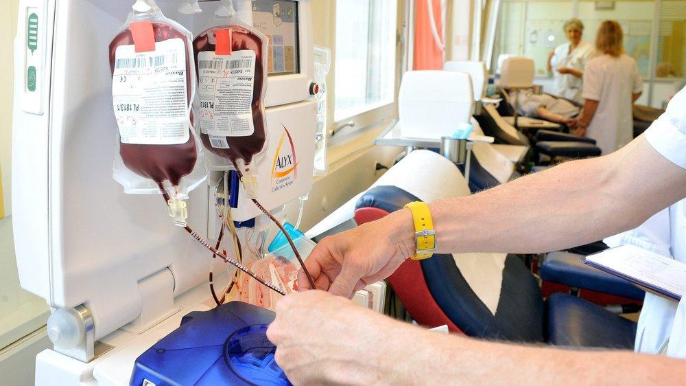 La gestion des stocks de poches de sang est délicate.