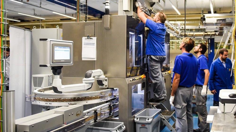 Le site de production de Neuchâtel ne devrait pas être touché par la réorganisation annoncée pour 2020.
