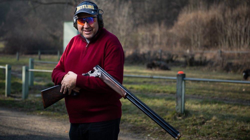 Nassim Khayrallah domine le tir au pigeon en Suisse depuis de nombreuses années.
