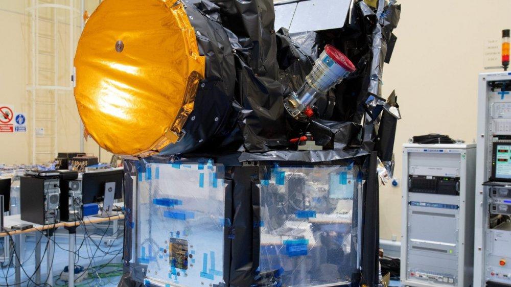 Lancé le 17décembre de la Guyane française, Cheops sera placé en orbite à 700 kilomètres d'altitude.