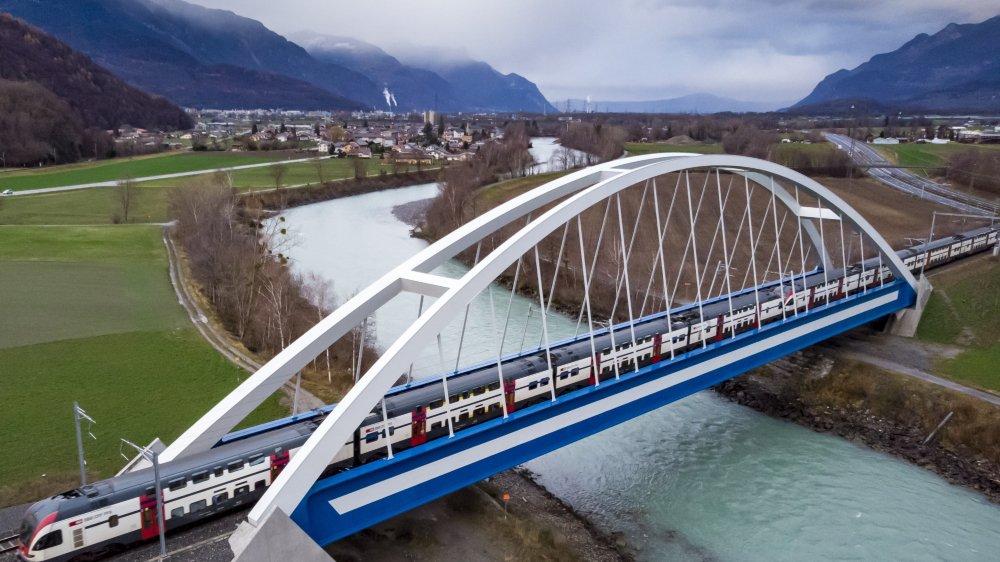 La correction du Rhône s'étend sur 162 kilomètres en Valais, mais aussi sur le territoire vaudois.