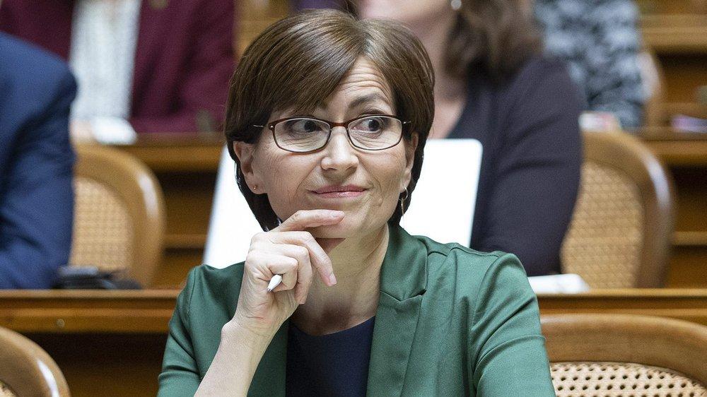 La présidente des Verts, Regula Rytz, n'est pas parvenue à déboulonner le chef du Département fédéral des affaires étrangères, Ignazio Cassis.