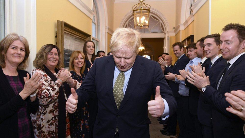 Boris Johnson félicité pour sa victoire.