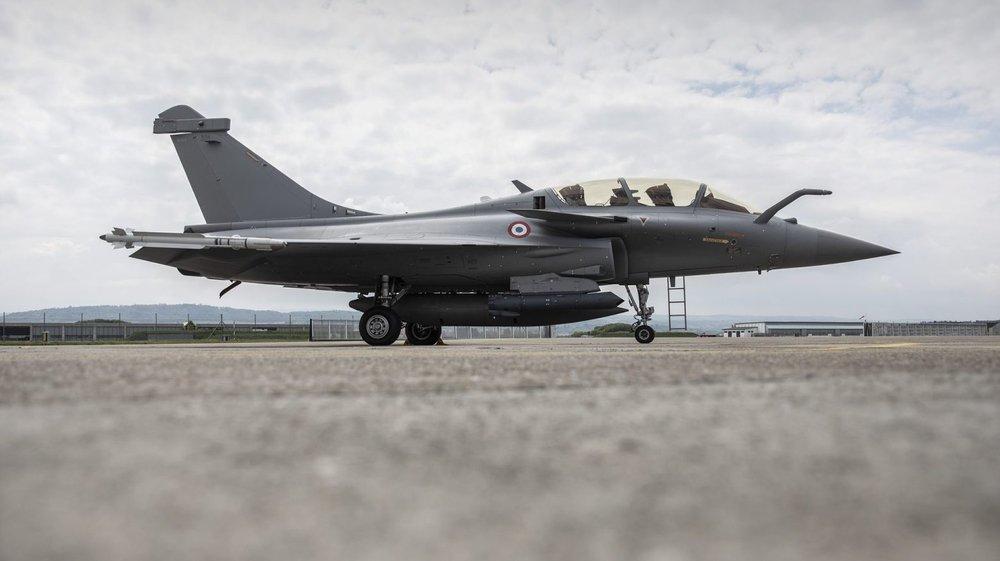 Le Rafale français fait partie des avions à l'examen.