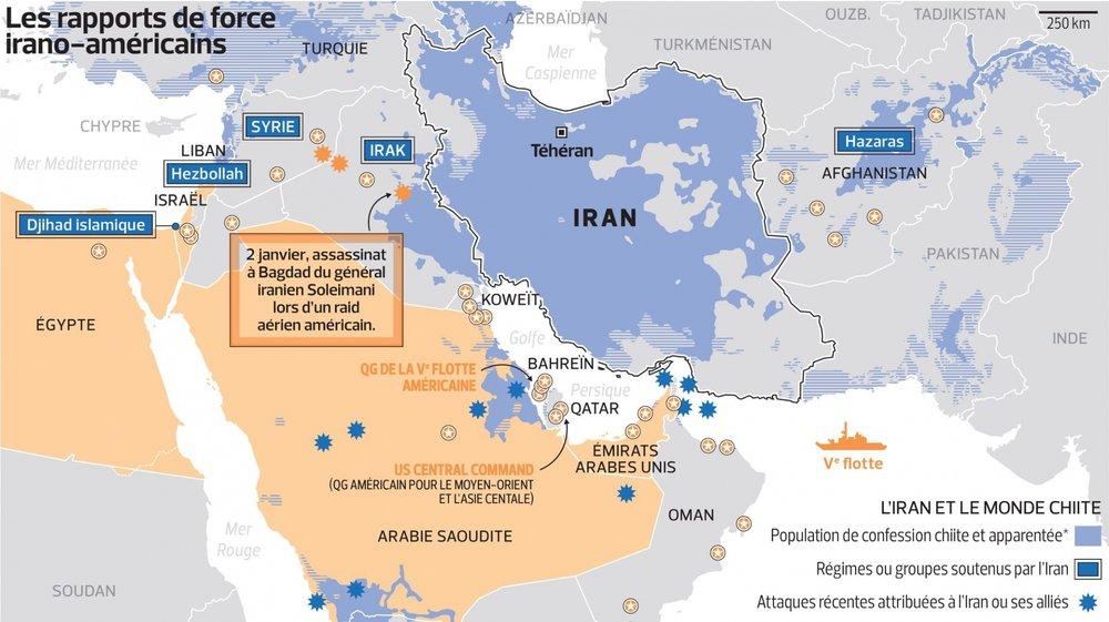 Trump frappe l'Iran en Irak
