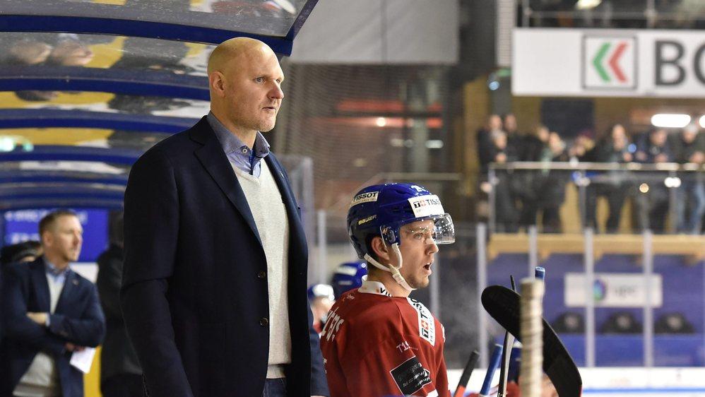Mikael Kvarnström a dirigé son dernier match à la bande du HCC ce mercredi contre Olten.