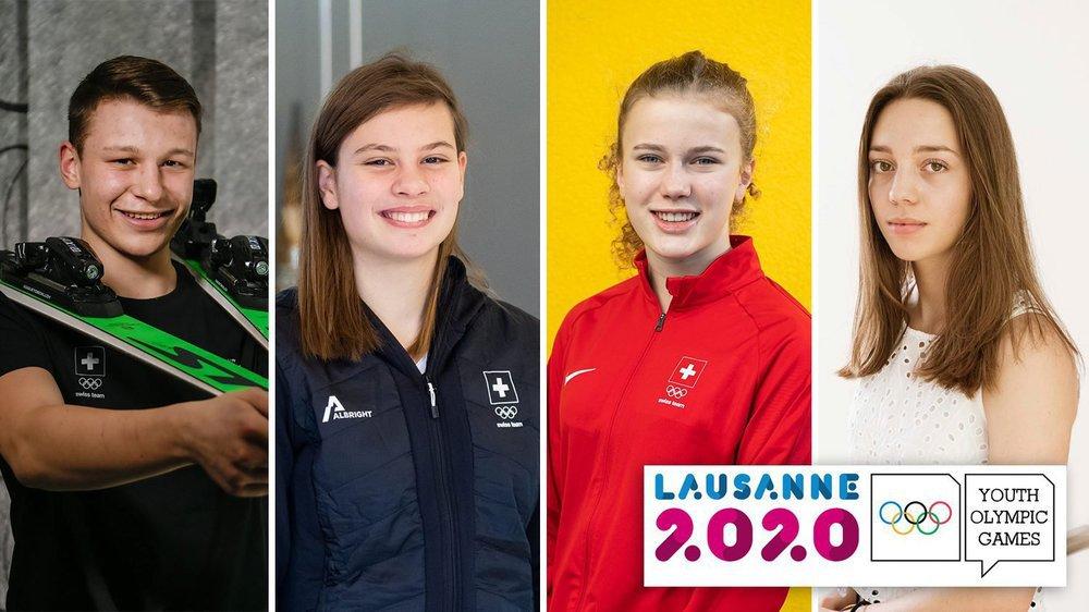 On vous dit tout sur les athlètes qui vont défendre les couleurs de l'Arc jurassien aux Jeux olympiques de la jeunesse.