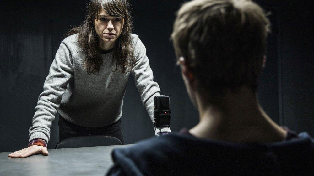 Sarah Spale, dans le rôle de l'inspectrice Rosa Wilder, tournera dans le haut du canton ces trois prochains mois.