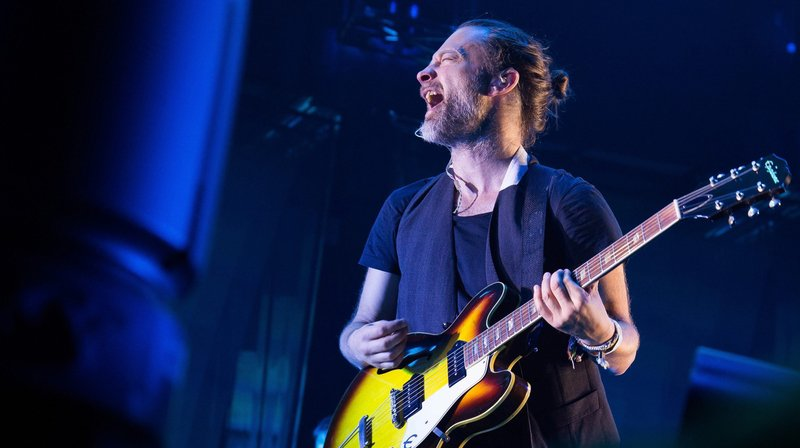 Thom Yorke, leader du groupe Radiohead.