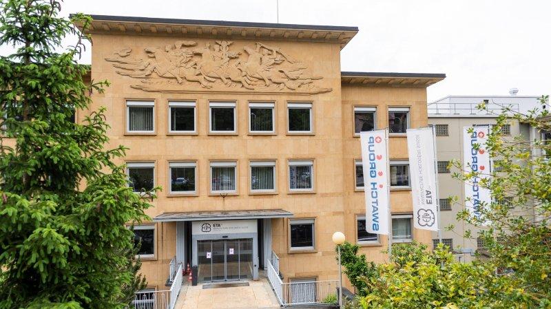 L'usine ETA à Fontainemelon.