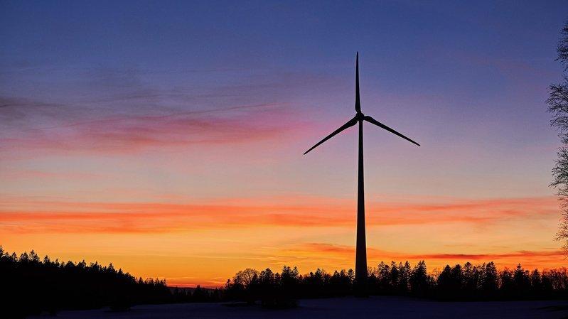Les éoliennes ne sont pas les bienvenues au Crêt-Meuron (image d'illustration).