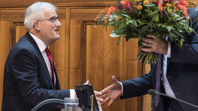 Le Biennois Hans Stöckli a été élu à la présidence du Conseil des Etats lundi.