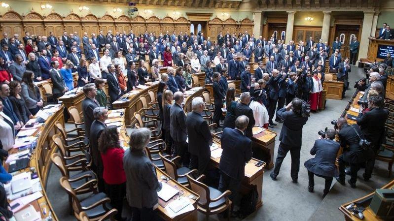 Tous les membres du Conseil fédéral ont été réélus ce mercredi 11 décembre.