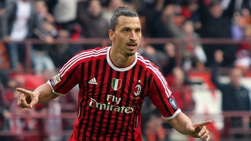 Football: Zlatan Ibrahimovic de retour à l'AC Milan pour six mois